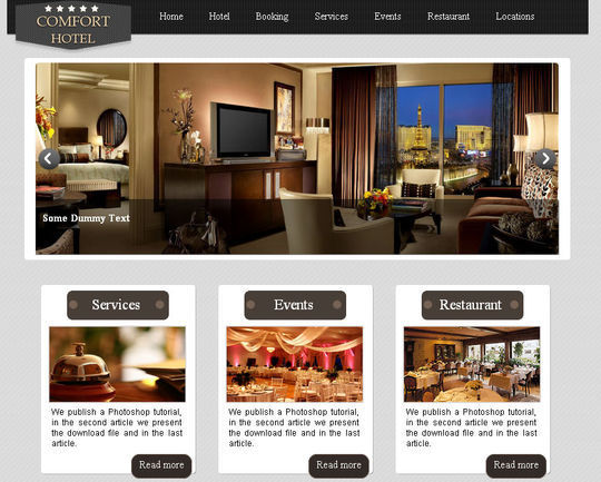 50 High Quality Free HTML5 And CSS3 Web Templates 47
