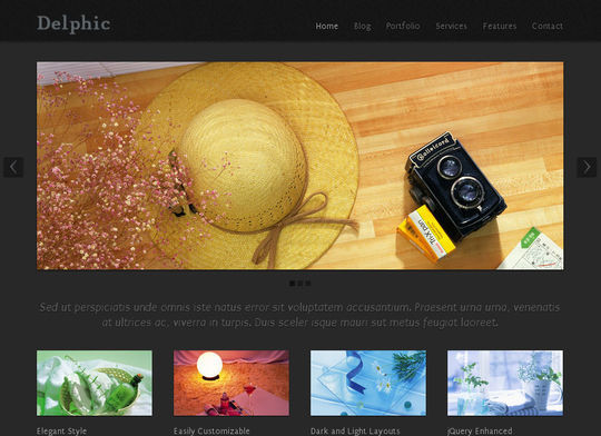 50 High Quality Free HTML5 And CSS3 Web Templates 49