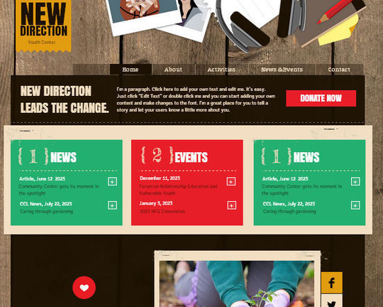 50 High Quality Free HTML5 And CSS3 Web Templates 50