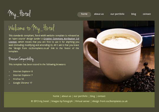 50 High Quality Free HTML5 And CSS3 Web Templates 7