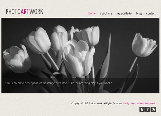 50 High Quality Free HTML5 And CSS3 Web Templates 1