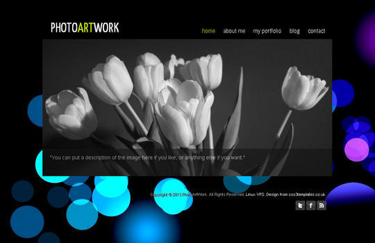 50 High Quality Free HTML5 And CSS3 Web Templates 9