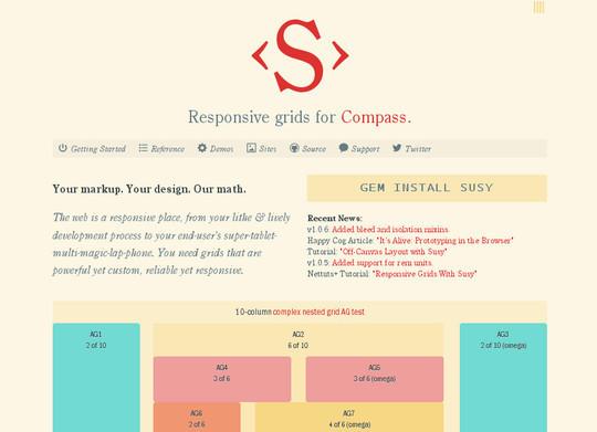 Flexible Grid Tools For Responsive Websites 11