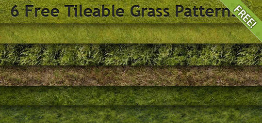 14 Useful Free Grass-Inspired Patterns 3