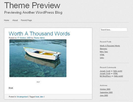 12 Free HTML5 And Responsive WordPress Themes 11
