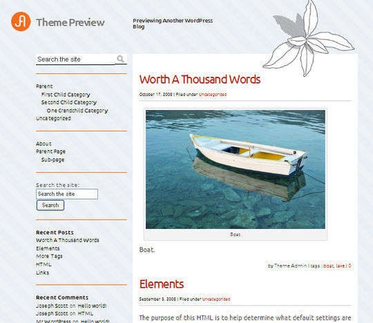 12 Free HTML5 And Responsive WordPress Themes 12