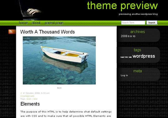 12 Free HTML5 And Responsive WordPress Themes 13