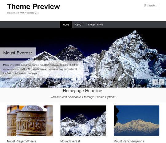 12 Free HTML5 And Responsive WordPress Themes 5