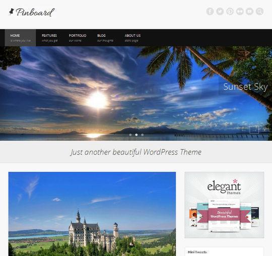 12 Free HTML5 And Responsive WordPress Themes 7