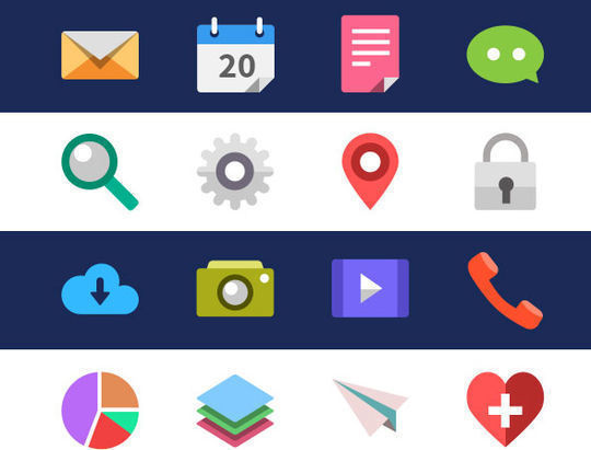 40+ Fresh And Free Icons In PSD Format 25
