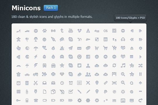 40+ Fresh And Free Icons In PSD Format 13
