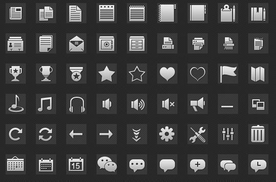 40+ Fresh And Free Icons In PSD Format 38