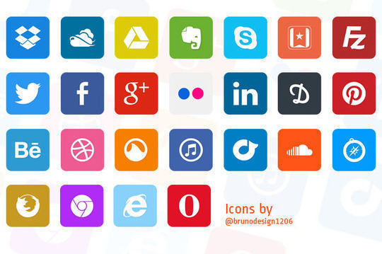 40+ Fresh And Free Icons In PSD Format 16