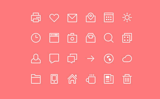 40+ Fresh And Free Icons In PSD Format 23