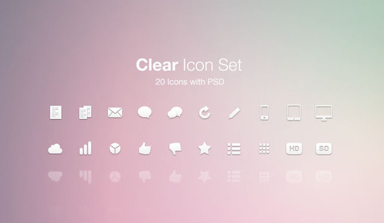 40 High Quality And Free Minimalistic Icon Sets 14