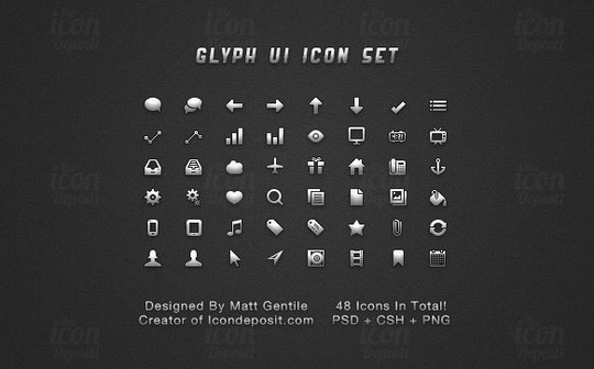 40 High Quality And Free Minimalistic Icon Sets 9