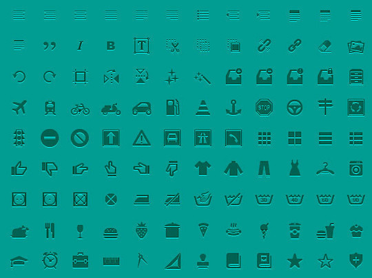 40 High Quality And Free Minimalistic Icon Sets 20