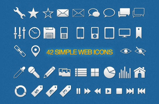 40 High Quality And Free Minimalistic Icon Sets 4