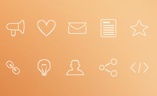 40 High Quality And Free Minimalistic Icon Sets 3
