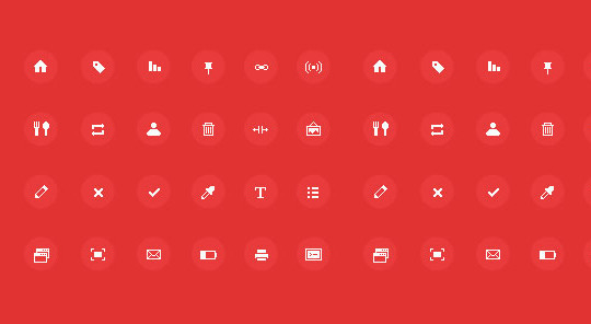 40 High Quality And Free Minimalistic Icon Sets 33