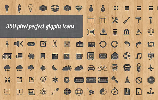 40 High Quality And Free Minimalistic Icon Sets 27