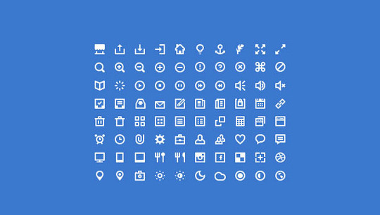 40 High Quality And Free Minimalistic Icon Sets 28