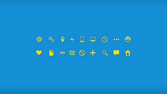 40 High Quality And Free Minimalistic Icon Sets 30