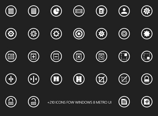 40 High Quality And Free Minimalistic Icon Sets 32
