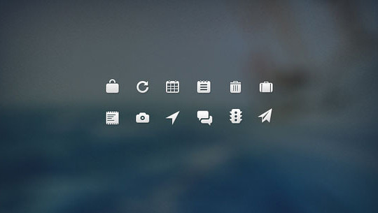 40 High Quality And Free Minimalistic Icon Sets 37