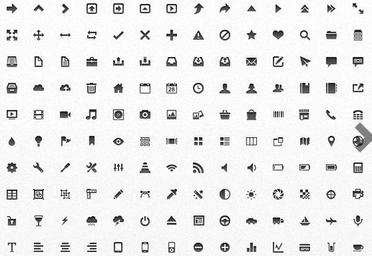 40 High Quality And Free Minimalistic Icon Sets 41