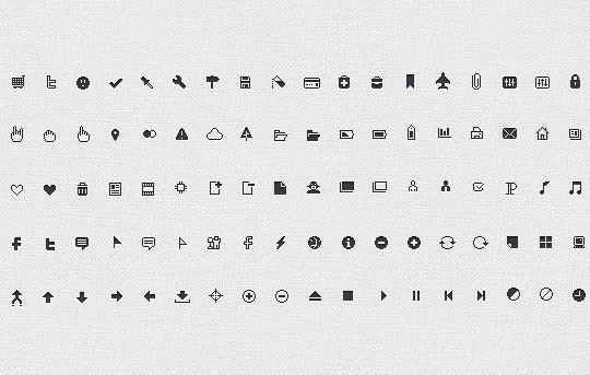 40 High Quality And Free Minimalistic Icon Sets 12