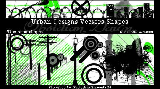 15 Useful Free Photoshop Custom Shapes Set 16
