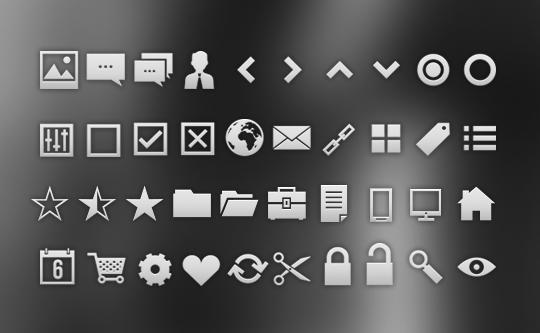 15 Useful Free Photoshop Custom Shapes Set 3