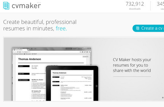 11 Free Online Tools To Create Professional Resume 12