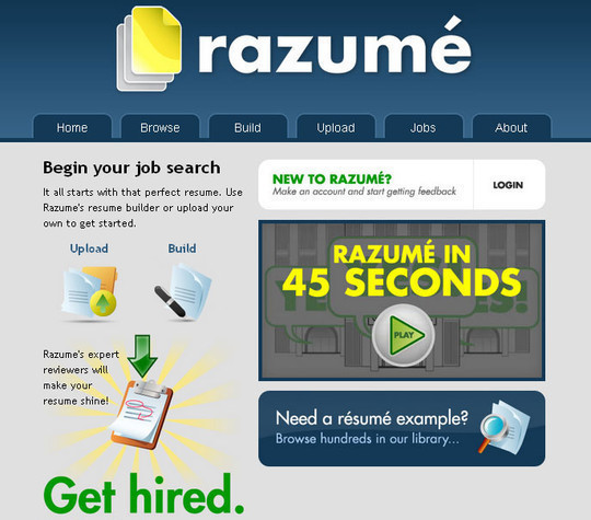 11 Free Online Tools To Create Professional Resume 5