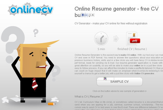 11 Free Online Tools To Create Professional Resume 6