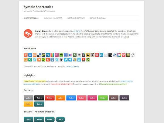 40 Useful Shortcode Plugins For WordPress 15