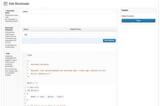 40 Useful Shortcode Plugins For WordPress 18