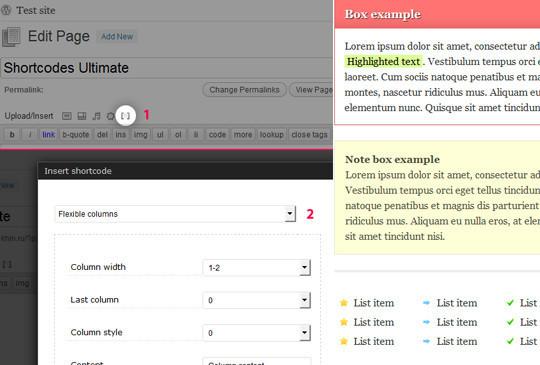40 Useful Shortcode Plugins For WordPress 2