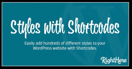 40 Useful Shortcode Plugins For WordPress 30