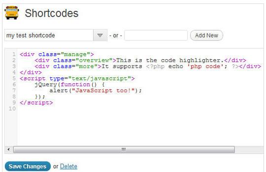 40 Useful Shortcode Plugins For WordPress 8