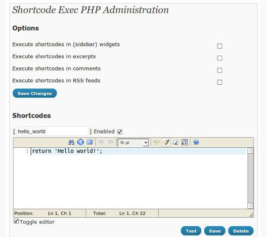 40 Useful Shortcode Plugins For WordPress 10