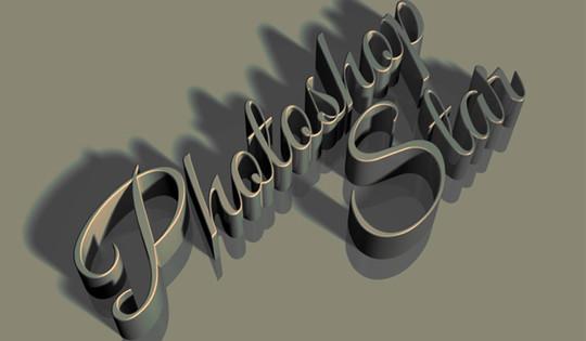 Showcase Of Fresh Photoshop Text Effect Tutorials 14