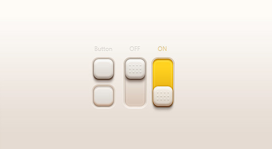 20 Free Toggle Switches UI Elements (PSD) 15