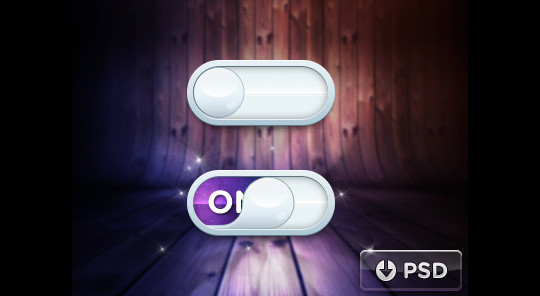 20 Free Toggle Switches UI Elements (PSD) 18