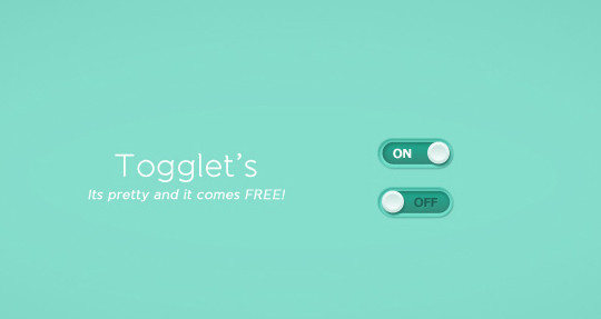 20 Free Toggle Switches UI Elements (PSD) 20