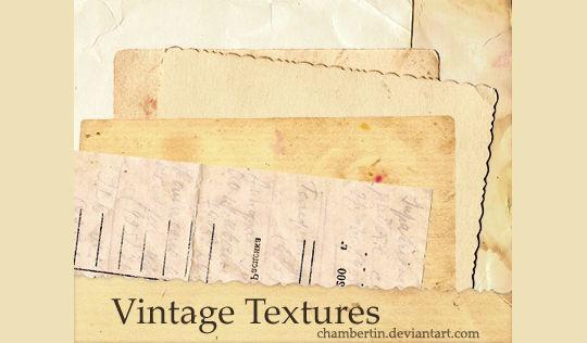 16 Free Vintage Paper Texture Packs 15