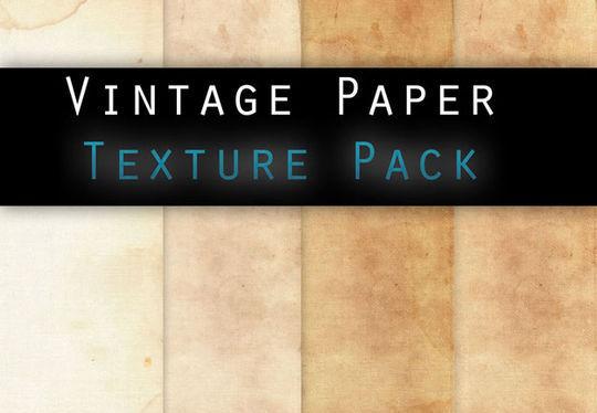16 Free Vintage Paper Texture Packs 5