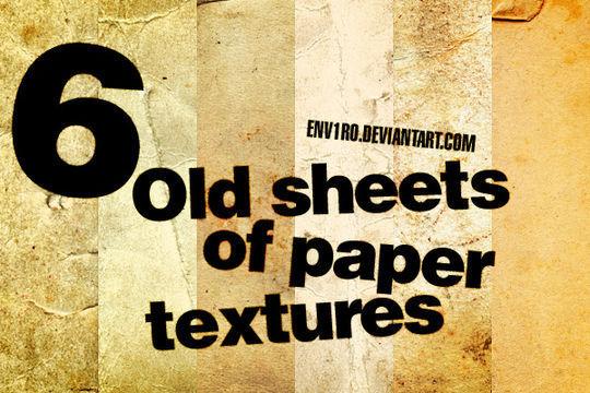 16 Free Vintage Paper Texture Packs 2