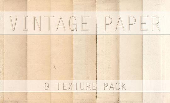 16 Free Vintage Paper Texture Packs 11
